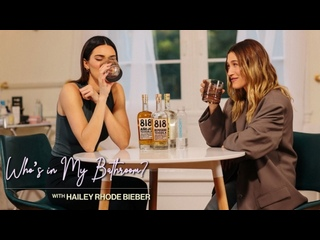 Who's in my bathroom? With Heiley Rhode Bieber | Guest Kendall Jenner plays never have I ever [RUS SUB]