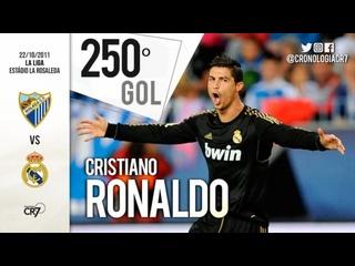 250-ый гол Криштиану Роналду в профессиональной карьере.