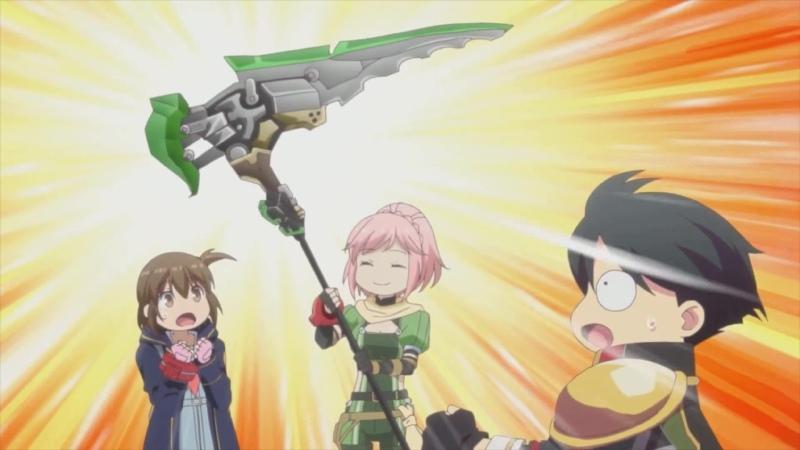 God Eater Reso Nantoka Gekijou God Eater Resonant Ops anime Ep6 Rus