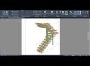 Проектирование лестниц на металлокаркасе