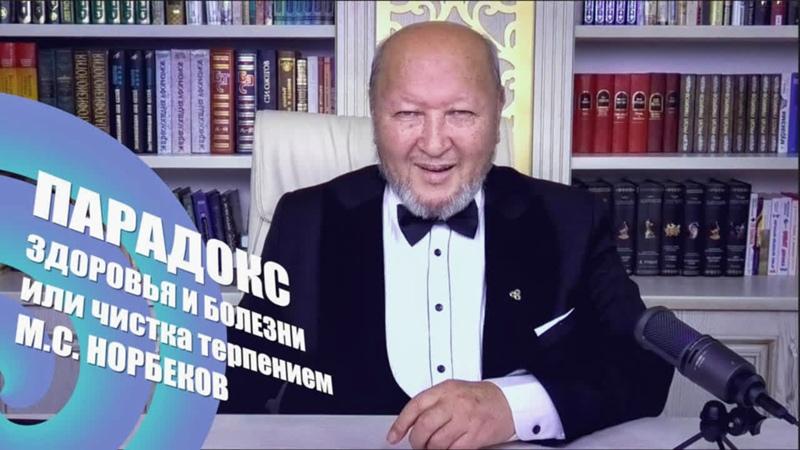 Парадокс Здоровья и Болезни Чистка терпением М С Норбеков