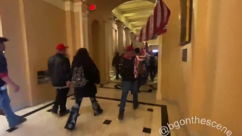 Randalierer bleiben im Kapitol vor Ort Ich glaube nicht dass sie wissen was auf sie zukommt Erwarten Sie Massenverhaftungen