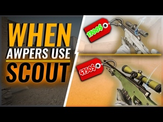 WHEN PRO AWPers USE SCOUT! (INSANE PLAYS)