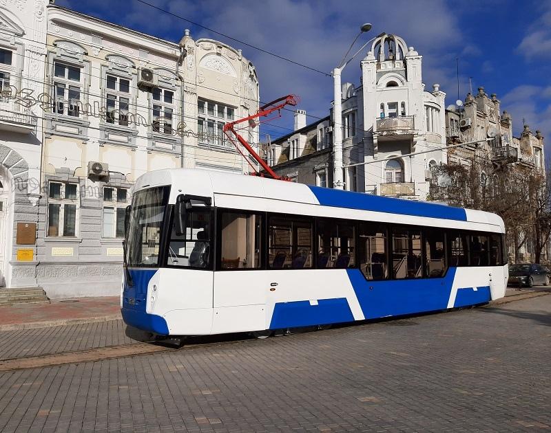 В этом году Евпатория получит 27 новых трамваев модели 71-411 почти за полтора миллиарда рублей