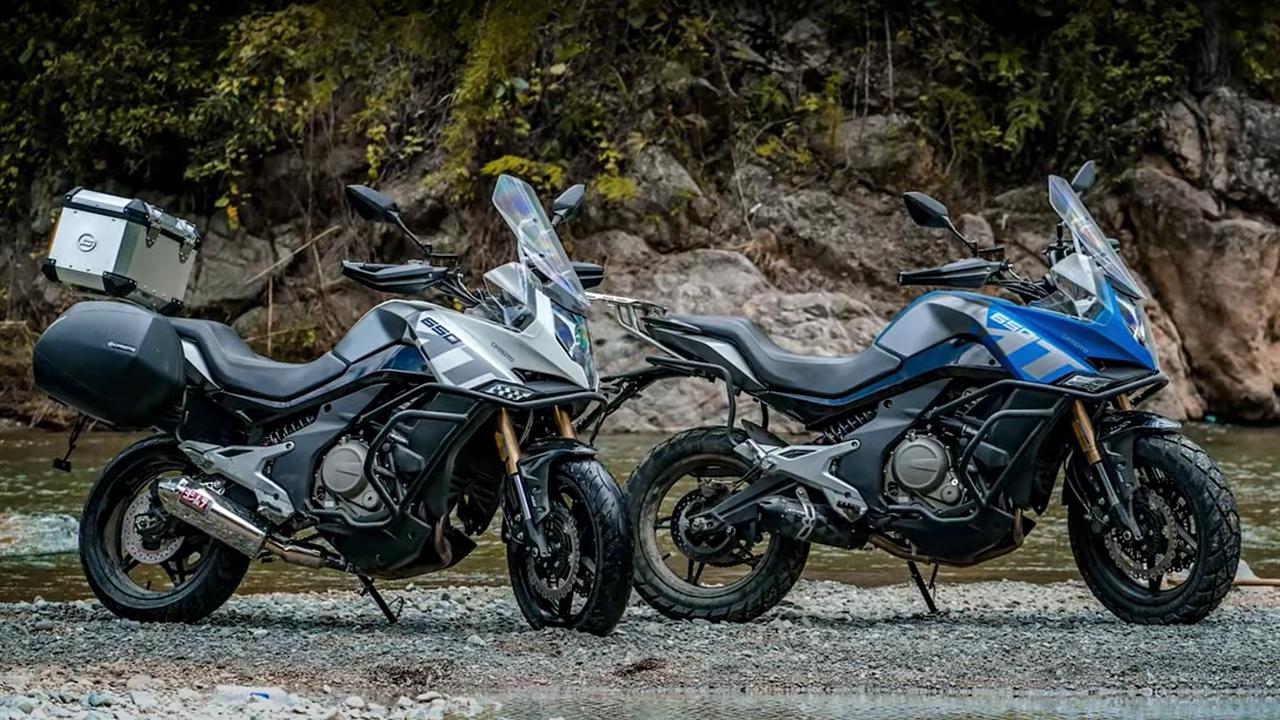 Подборка офф-роуда с мотоциклом CFMoto 650MT.