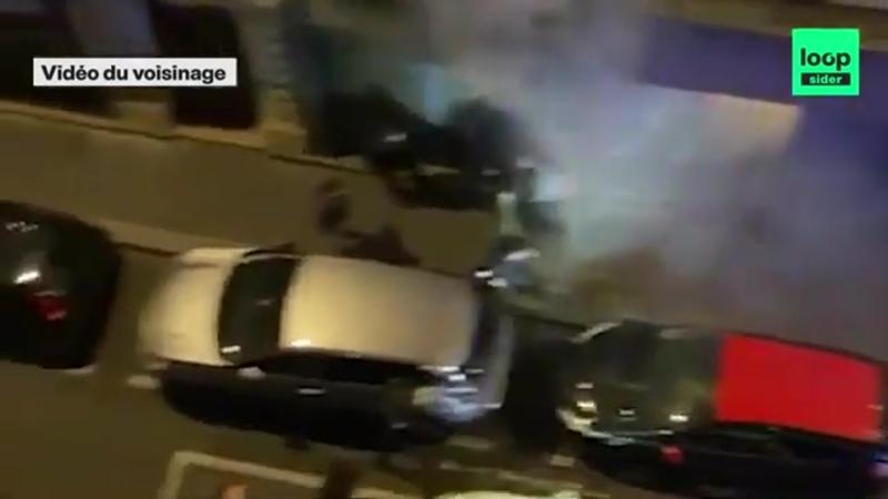 IL NE PORTAIT PAS DE MASQUE TROIS POLICIERS LE TABASSENT CHEZ LUI