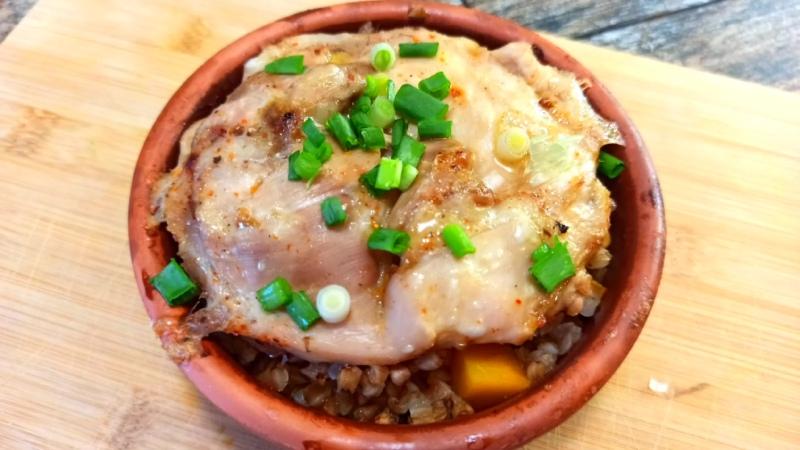 Блюдо 17 греча с тыквой яблоками и курочкой