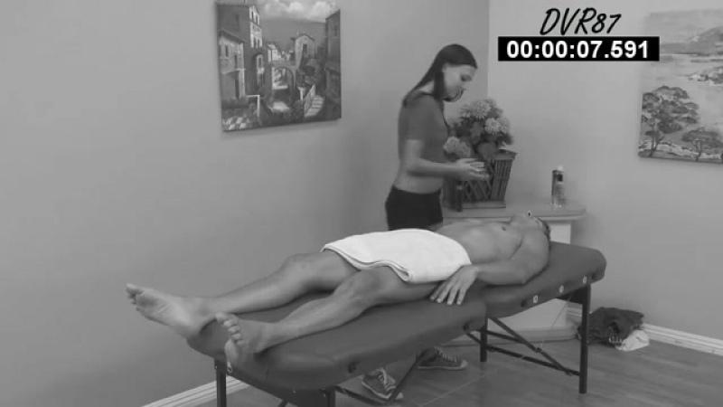 Hidden Camera Video Footage of my Platonic Massage