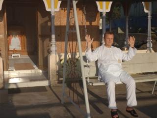 Виктор Алексеевич Ефимов в Индии. Октябрь 2015 г.