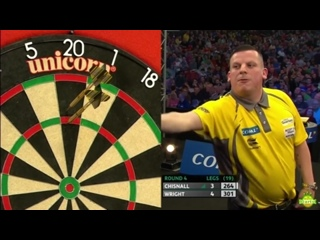 Dave Chisnall vs Peter Wright (Coral UK Open 2017 / Round 4)