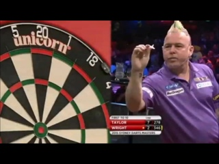 Phil Taylor vs Peter Wright (Sydney Darts Masters 2015 / Semi Final)