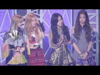 170222 BLACKPINK Rookie Award speech cut @ Gaon Chart Awards