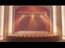 Театральный занавес- футаж для монтажа hd