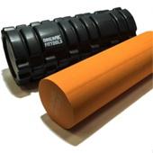 Цилиндр массажный Original Fittools 33х14 см черный двойной