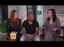 Инервью Дэннил, Энтуона Таннера и Хилари Бертон для Entertainment Tonight отрывок