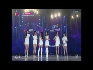 [PERF/TV] A PINK - I'M SO SICK + FIVE + LUV + ENDING (18O8O2 KOREA MUSIC FESTIVAL)