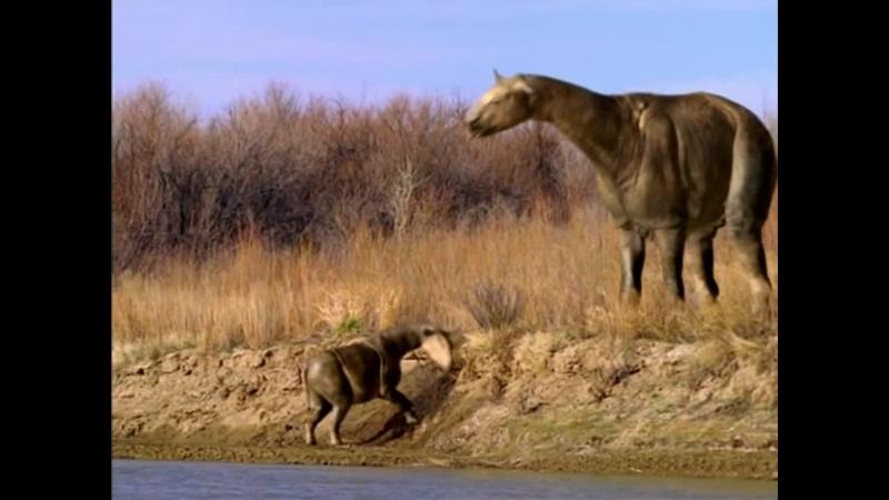 BBC Прогулки с чудовищами 2001 3 Серия Земля гигантов