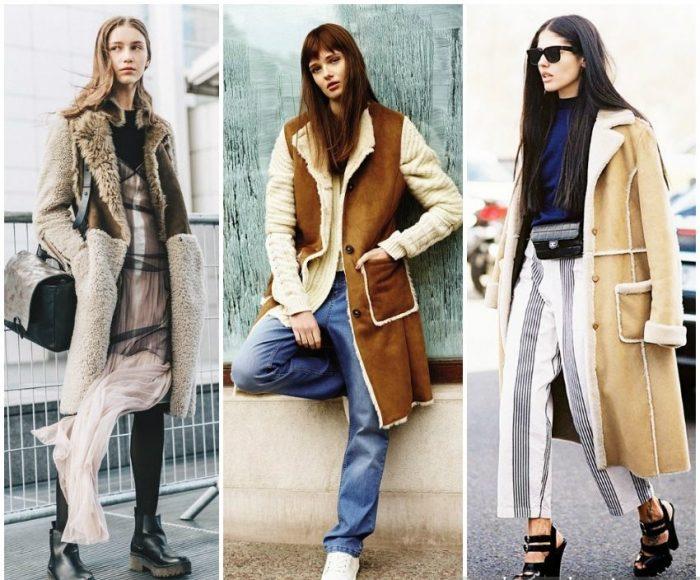 Верхняя одежда на зиму — модная палитра