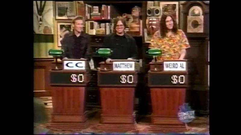Win Ben Steins Money (November 21, 2000) - Rock and Roll special! [WEIRD AL]