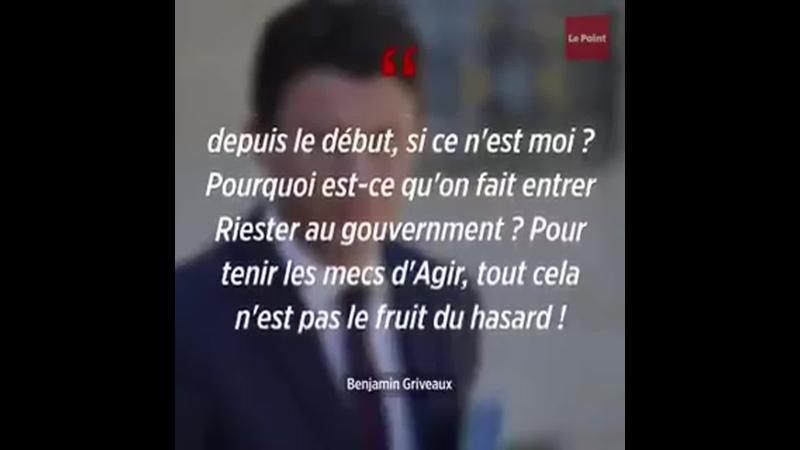 « Il y a un abruti chaque jour qui dit quil veut être maire de Paris » lance @BGriveaux en privé sur ces camarades