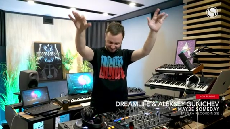 Worldwide DreamLife Aleksey Gunichev Maybe Someday in Find Your Harmony with Andrew Rayel