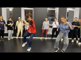 Open lesson Hip hop Bakha&Polina
