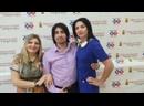 День города чилийский рок-тенор Игнасио Гомез Урра в гостях на Новороссийском телевидении