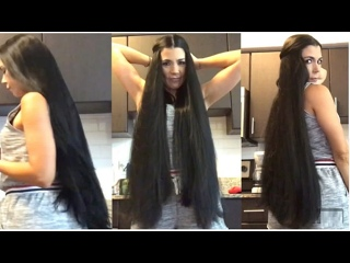 RealRapunzels _ A Long Hair Morning with Good Energy (preview). .