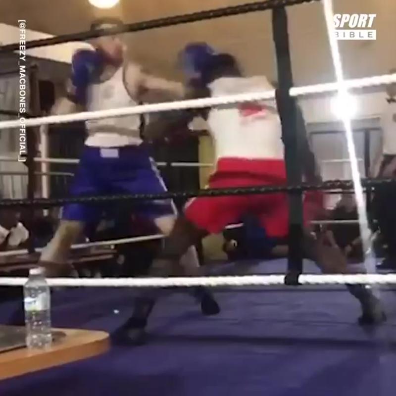 Этот боксер-любитель так сильно бьет, что его прозвали ′′британским Майком Тайсоном′