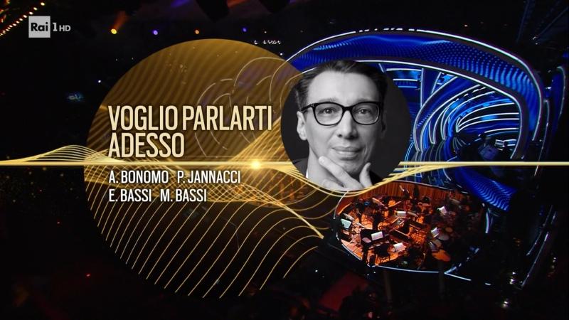 08 Paolo Jannacci Voglio parlarti adesso Festival di Sanremo 2020 Seconda serata Full HD 50 fps
