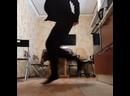 Сатанист круто танцует шафл Инстаграм.сом