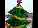 Оформление детского сада Конфетти к Новому году