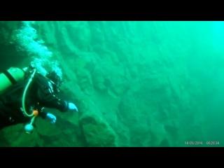 С гор под воду в озеро Церик-Кёль