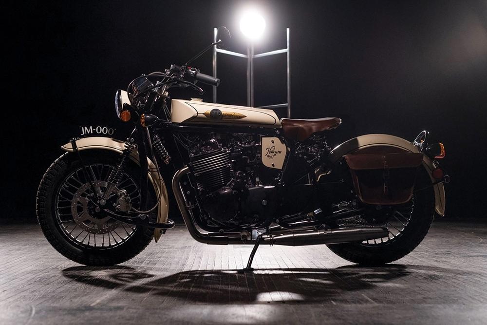 Мотоцикл Janus Halcyon 450