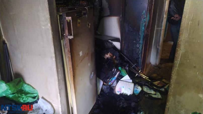 3 человек эвакуировали на пожаре в Новотроицке