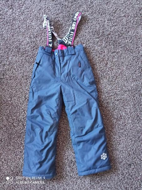 Зимние штаны для девочки Futurino в идеальном сост...