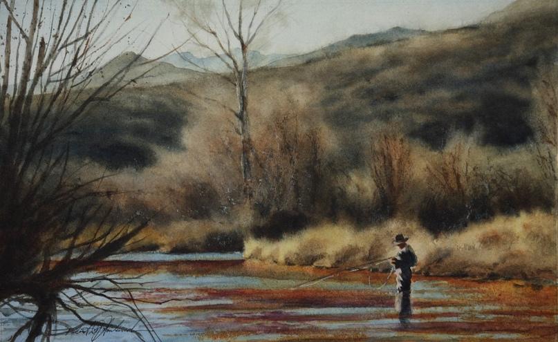 Американский художник-акварелист. Robert McFarland, изображение №17