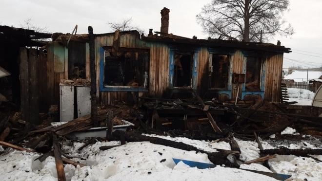 В Волжске на месте сгоревшего дома нашли тело 86-летней женщины