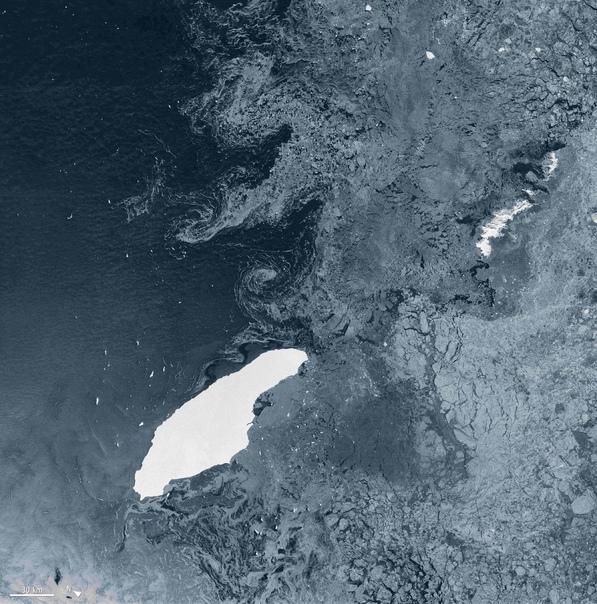 Айсберг А-68  самый большой айсберг в мире