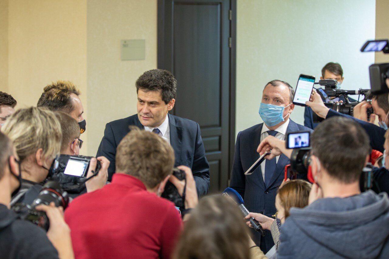 ❗На Думе приняли досрочную отставку Александра Высокинского.