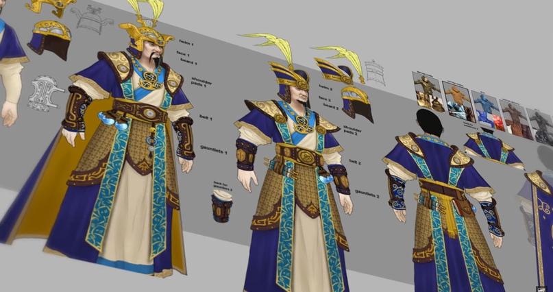Великий Катай, новый лор Warhammer Fantasy и Total War III, изображение №10
