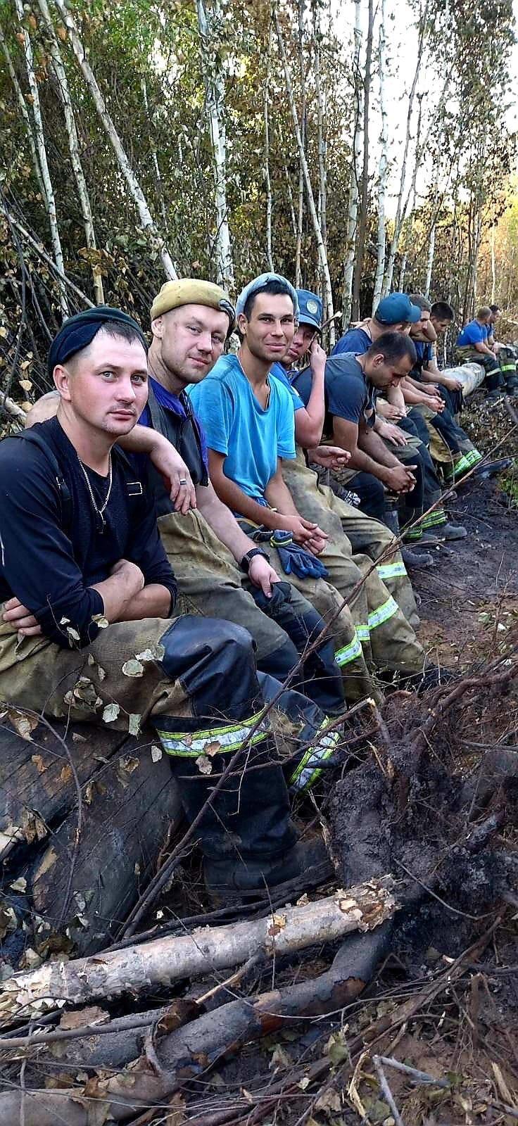 Помните мы писали о том, что пожарные