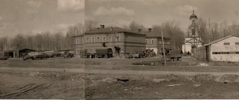 Снимок времен немецкой оккупации Орла