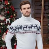 Свитер мужской рождественский