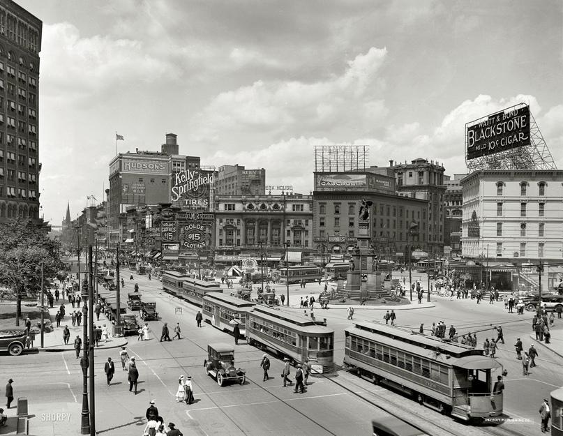 HD-фотографии городов США сделанные в 1900-1915 годах, изображение №27
