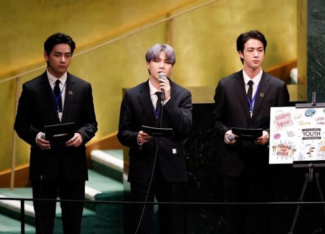 """""""Чтобы танцевать, не требуется никакого разрешения"""", BTS на заседании ассамблеи ООН"""