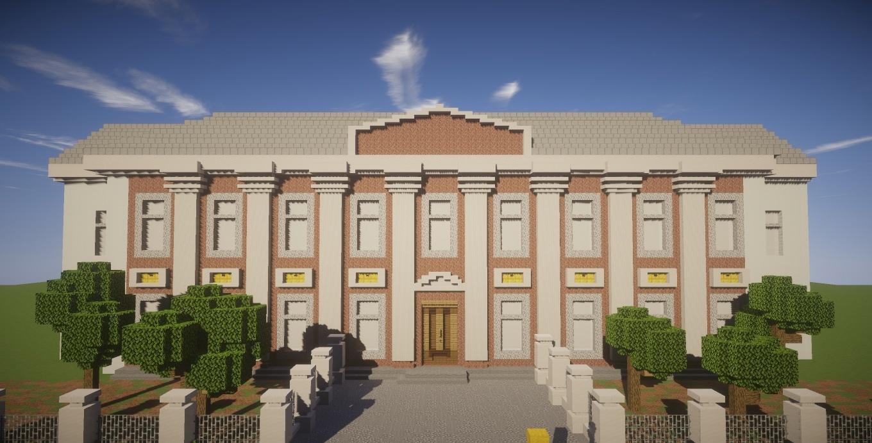 Можгинец продолжает отстраивать свой город в МайнкрафтеМы