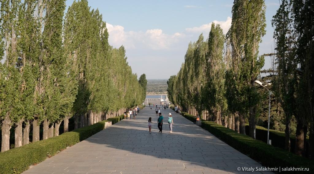 Дорога до Мамаева кургана, Волгоград 2020