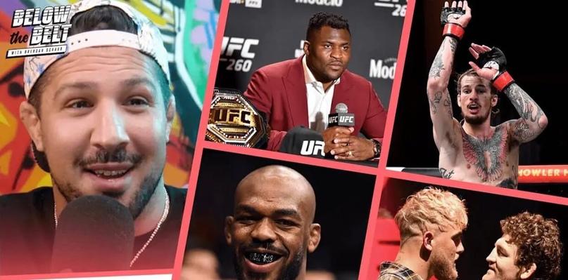 """💥😱Брендан Шауб шокирован """"смехотворным"""" гонораром Джейми Мулларки в UFC"""