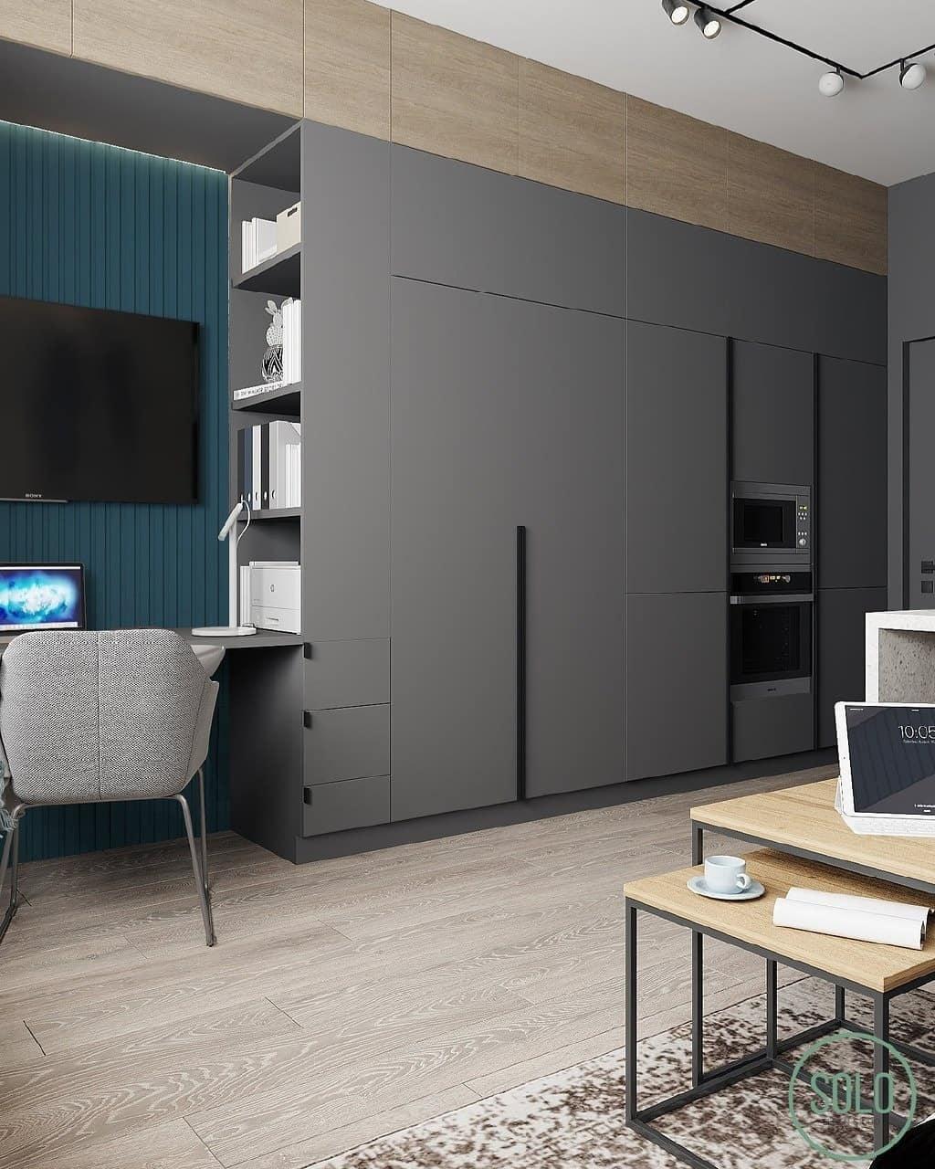 Проект квартиры 32 кв.